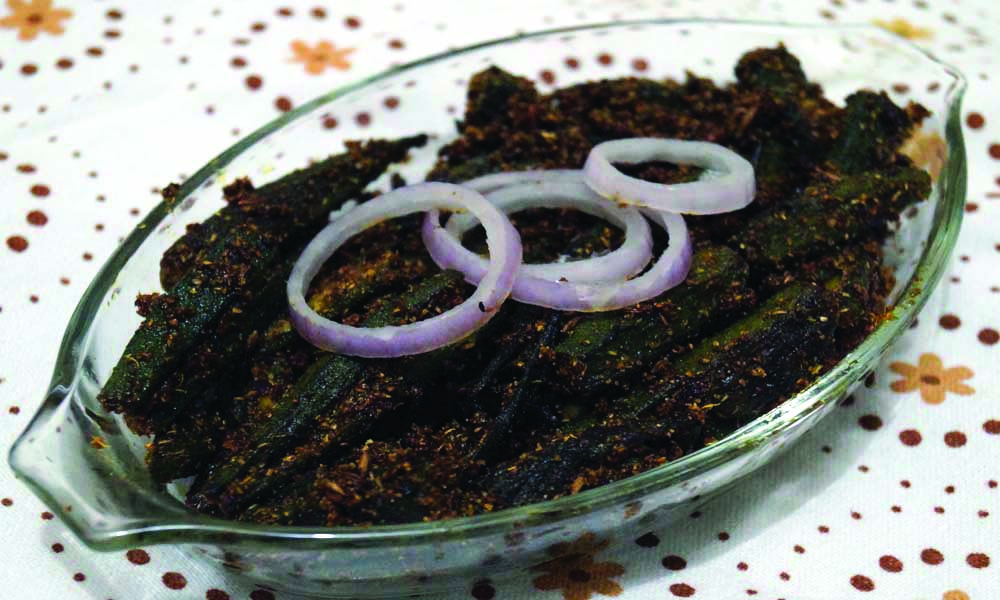 भरवा भिन्डी (Stuffed Bhindi)