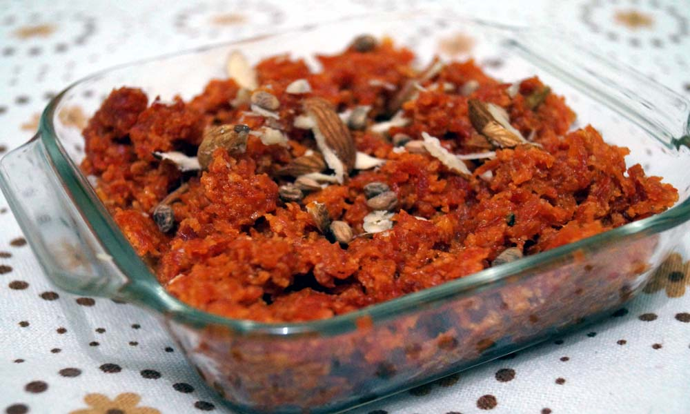 गाजर का हलवा (Carrot Pudding)